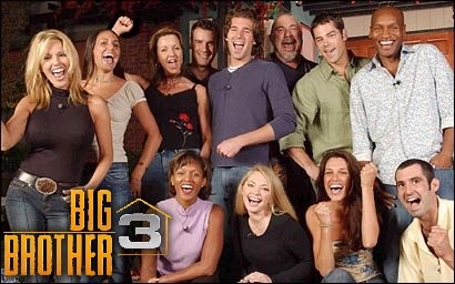 Big Brother: Season 3 (8 DVD Set) 2002 TV Series